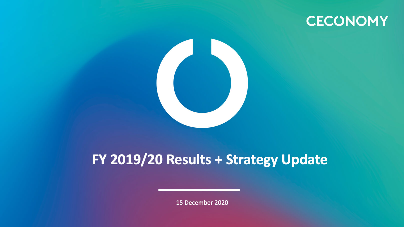 FY 2019/20 Results + Strategy Update